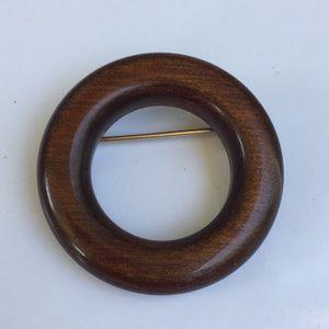 Wood Brooch 5/$25
